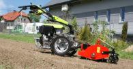 Grillo G 110 (wersja z silnikiem Diesla Lombardini 11 KM) i separator R2
