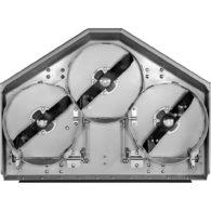 Trzynożowy agregat tnący w kosiarce samojezdnej MD 22N