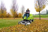 Kosiarka samojezdna z zasobnikiem FD 280 - doskonała również do zbierania liści!