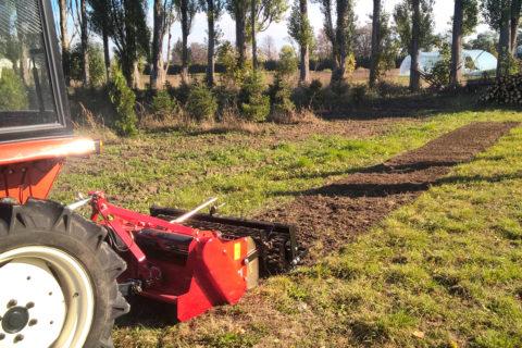 Dostawa glebogryzarki TST w wersji traktorowej do Warszawy