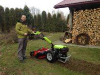 Klient z traktorkiem G 110 z separatorem Condor
