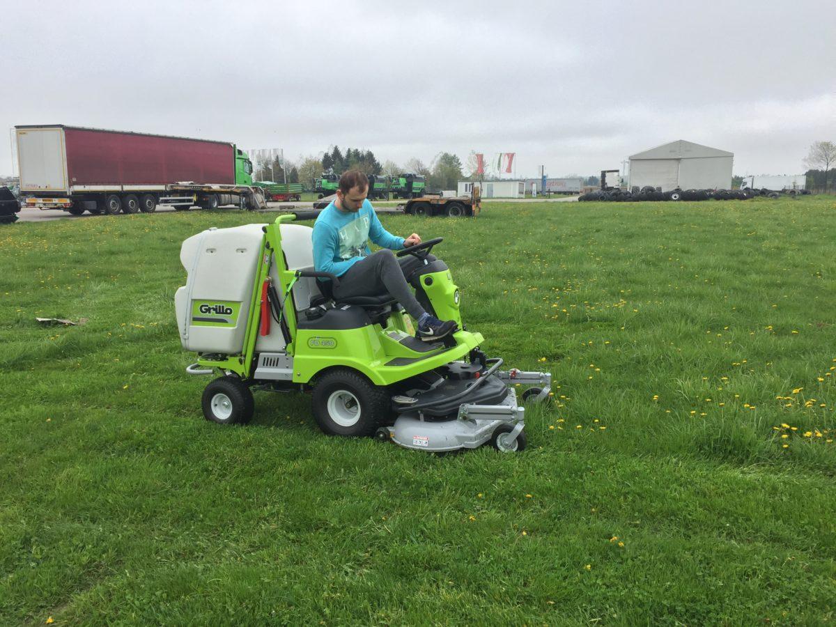 Grillo FD 450 - koszenie mokrej i wysokiej trawy