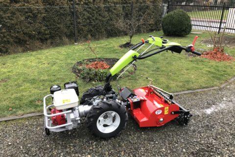 Dostawa traktorka Grillo G 110 do firmy usługowej JJG ze Śląska
