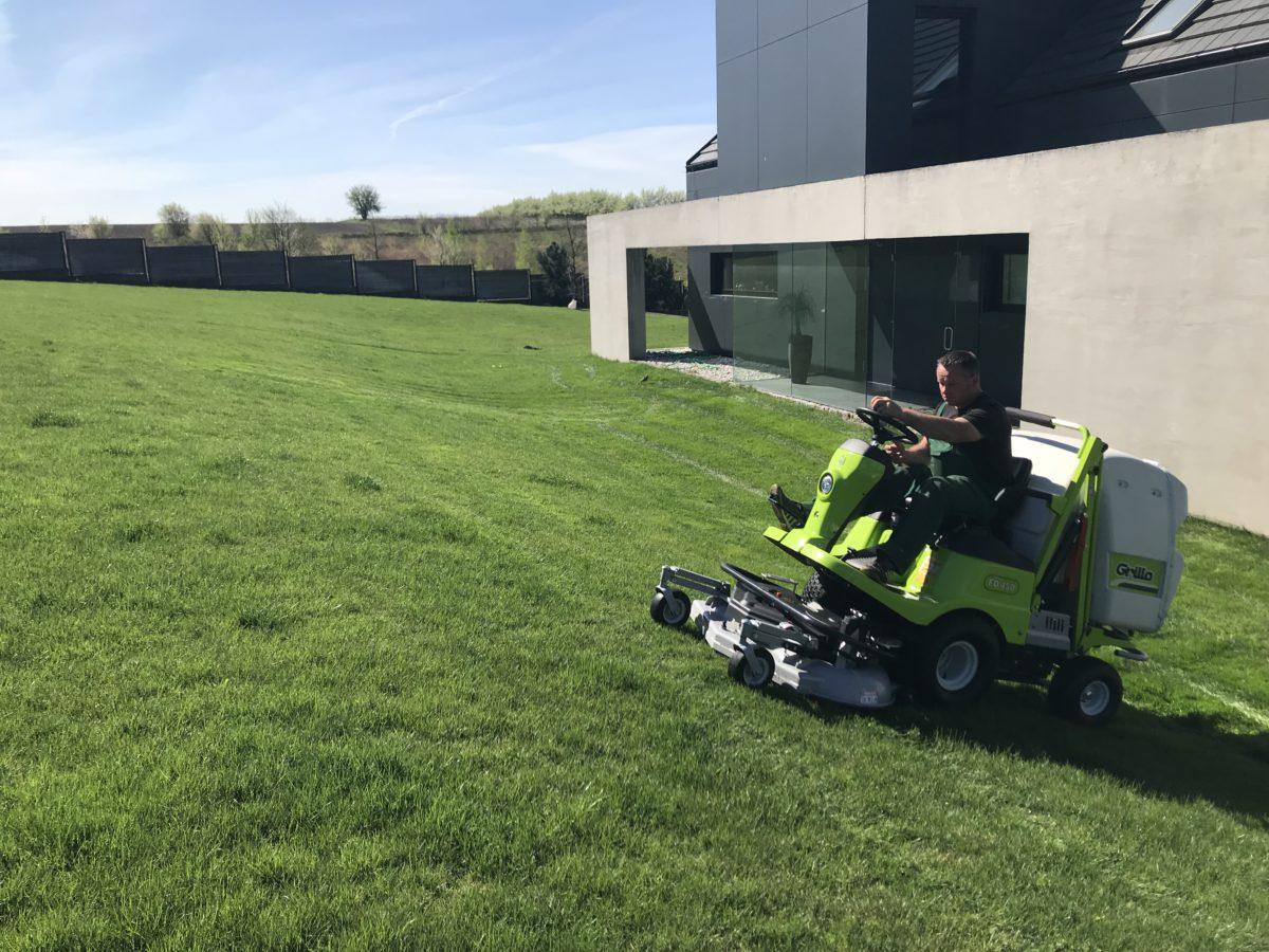 Operator na nowej maszynie / FD 450