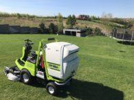 Grillo FD 450 przeznaczone do zbierania trawy i regularnego koszenia