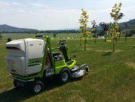 FD 450 - piękne ujęcie nowego terenu do koszenia / doskonała maszyna do zwrotnego koszenia wokół drzew i krzewów